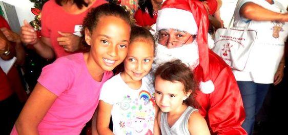 Nardini encerra ano com festividades natalinas para pacientes e funcionários
