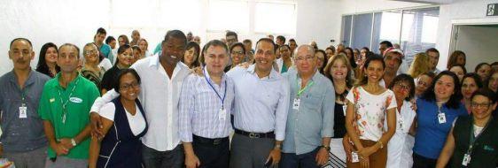 Prefeito participa da apresentação da nova Diretoria do hospital