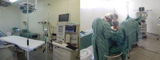 Hospital Nardini tem nova sala de cirurgia para atender procedimentos eletivos