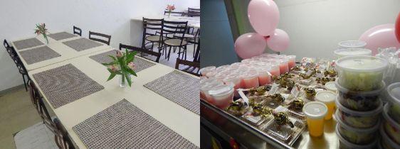 Nutrição prepara almoço em comemoração ao Dia da Mulher