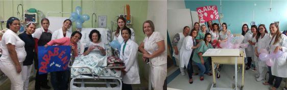 Pacientes internados ganham festa de aniversário
