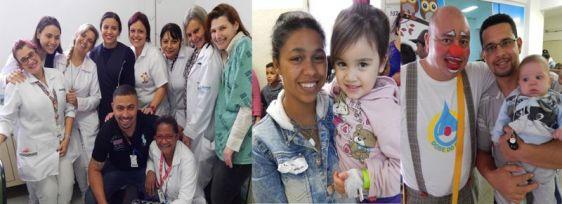 Pacientes da Pediatria ganham festa de Dia das Crianças