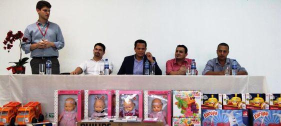 Brinquedoteca da Pediatria recebe doação da Suzantur