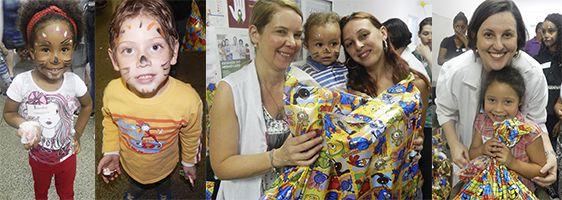 Equipe da Pediatria organiza festa de Dia das Crianças