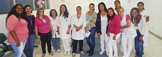 Outubro Rosa mobiliza 200 funcionários no Nardini