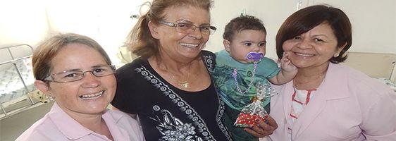 Pacientes da Pediatria são presenteados no Dia das Crianças