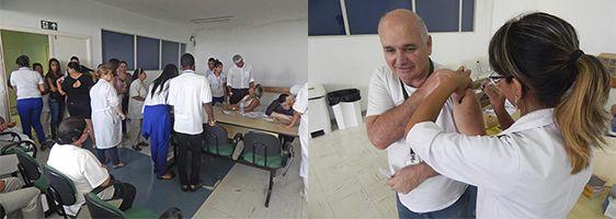Nardini vacina 773 funcionários contra vírus da gripe