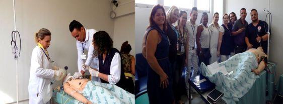 Médicos e enfermeiros são treinados para atendimentos de Urgência